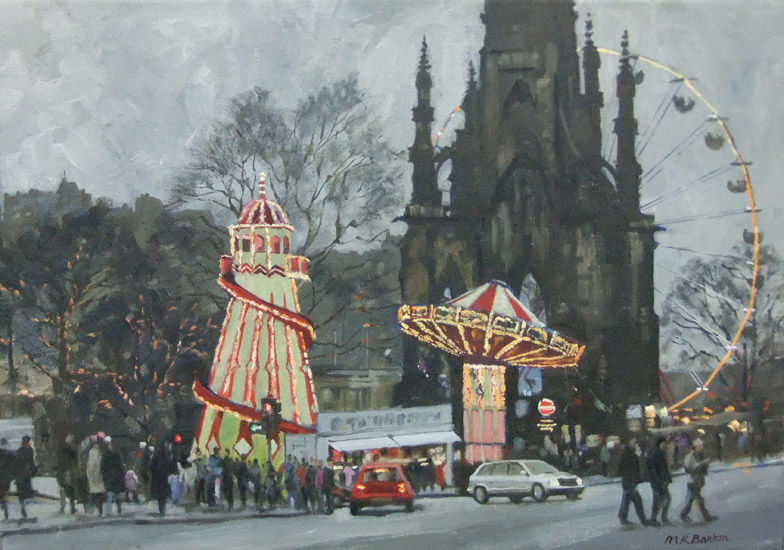 Winter Fair, Princes Street, Edinburgh,
