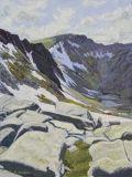 Coire an t-Sneachda and Fiacaill Ridge.  Northern Cairngorms