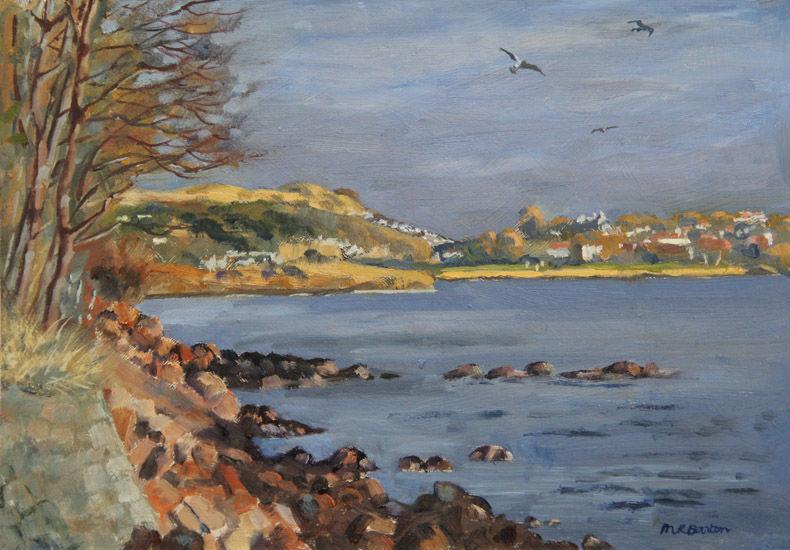 Burntisland and the Binn from the Fife Coastal Path