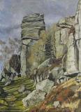 The Froggatt Pinnacle, Derbyshire