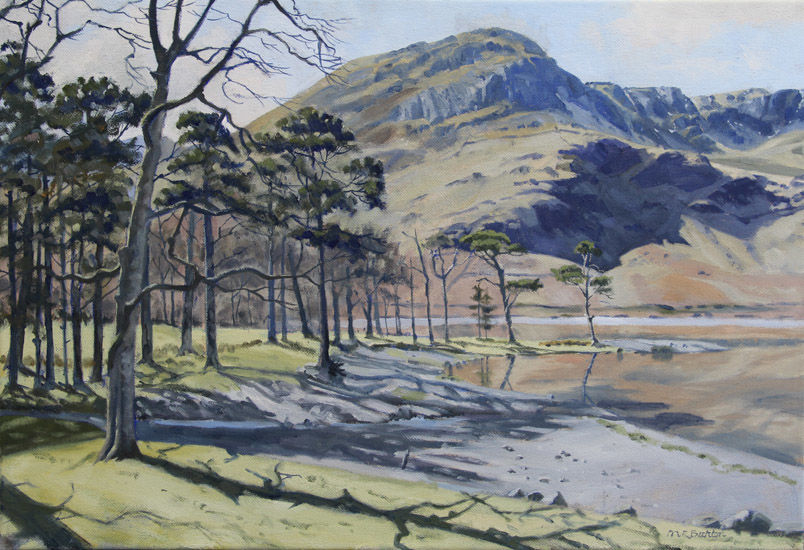 High Crag from Buttermere,