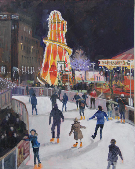 Winter Fair, St Andrew Square, Edinburgh