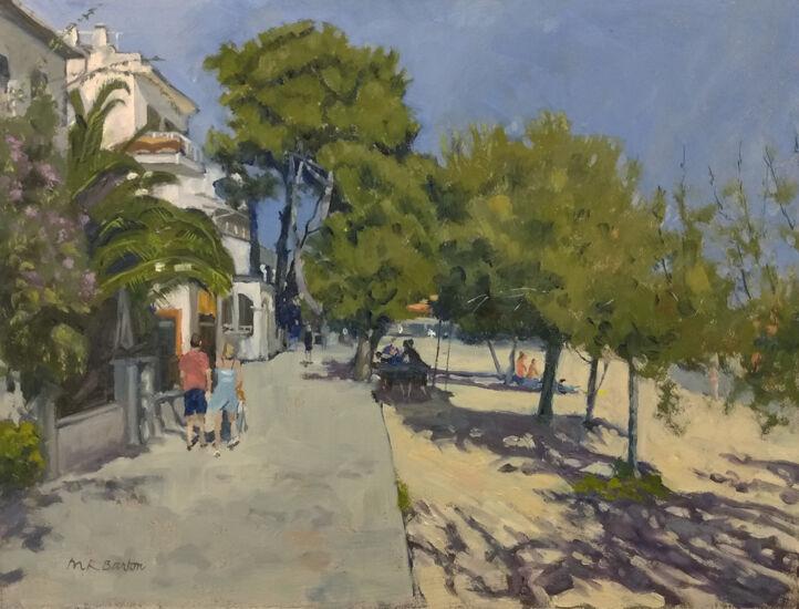 Pine Walk, Puerto Pollensa, Mallorca near Hotel Bahia
