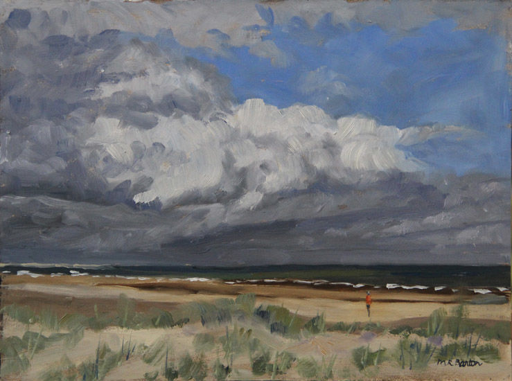 Big sky over Tentsmuir beach, Fife, Scotland