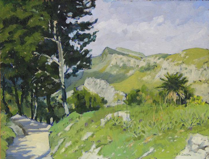 The Sierra de Tramontana, North Mallorca