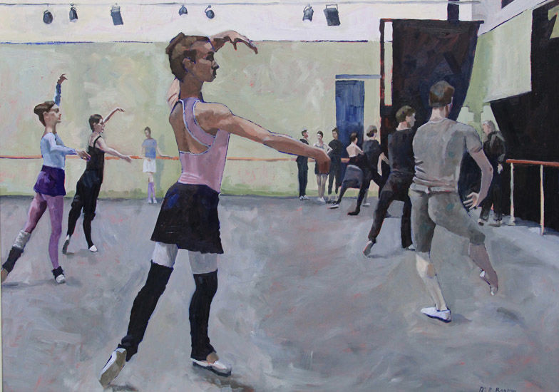 Rehearsal – Royal Ballet daily class