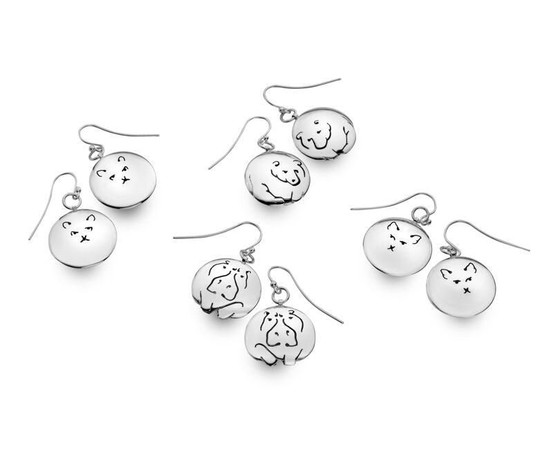 Animalia collection earrings