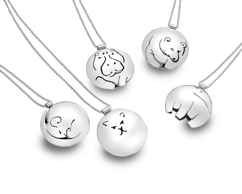 Animalia collection 3D pendants