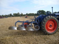 Classic Fordson-Ransomes combination.