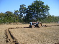 Monday to Friday a Secretary, and very much a rising star in match ploughing at the weekend!