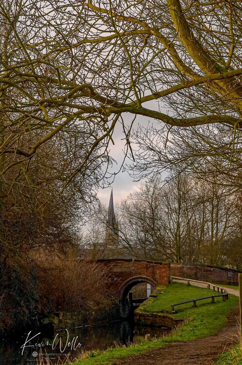 Chesterfield Canal and Crooked Spire