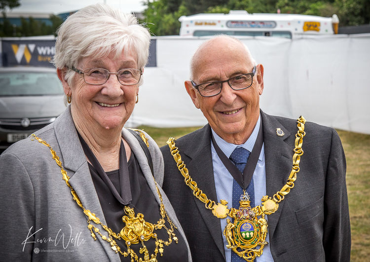 The Lord Mayor and Lady Mayoress of Sheffield 2019