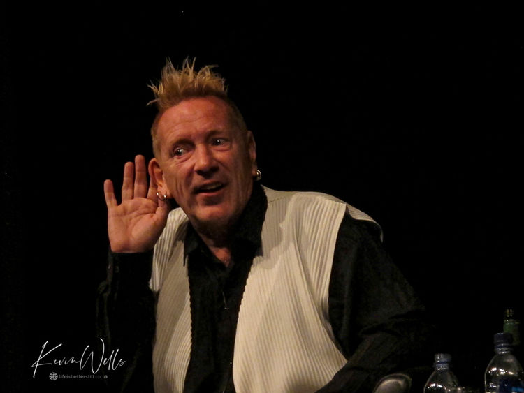 John Lydon - An Audience with Johnny Rotten - Octagon Sheffield
