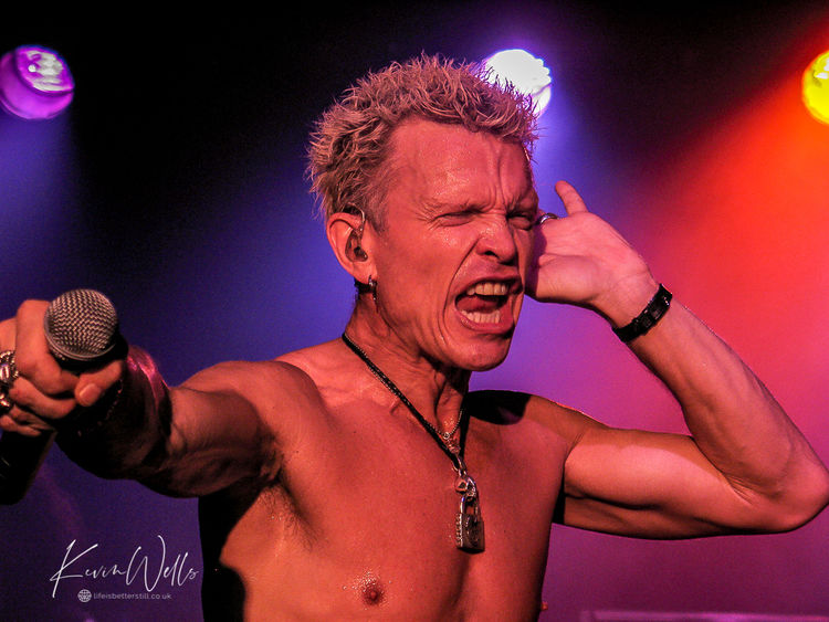 Billy Idol - Nottingham Rock City