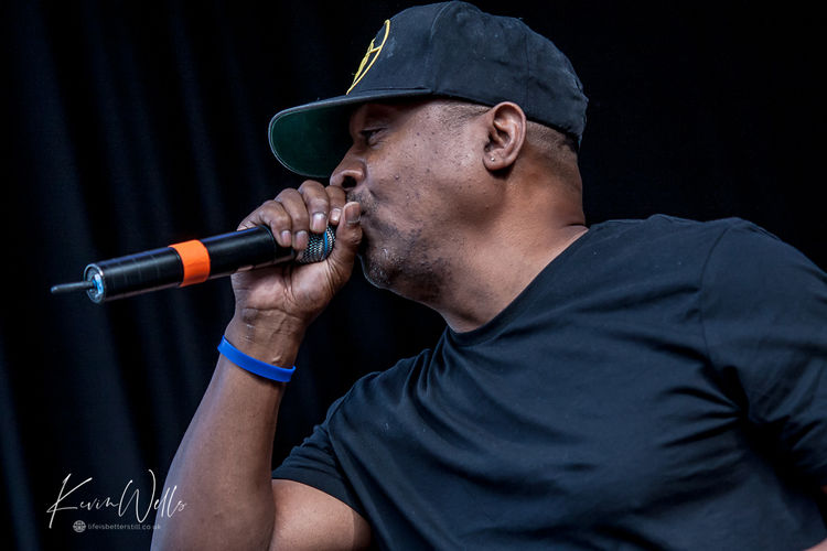 Chuck D of Public Enemy at Tramlines Sheffield