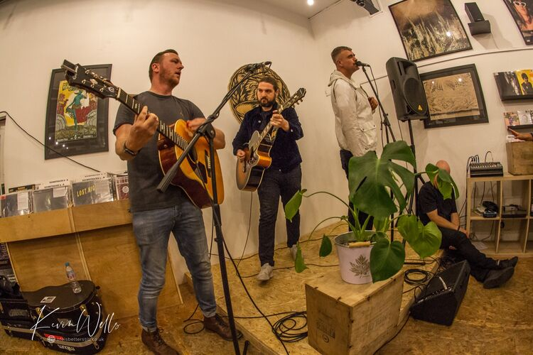 Reverend & The Makers at Bear Tree Records