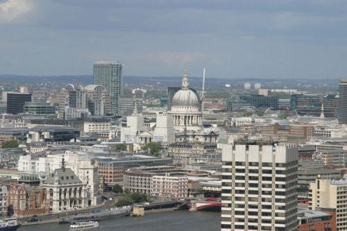 City of London Skyline from the London Eye