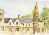 Matyrs' Memorial and St John's College