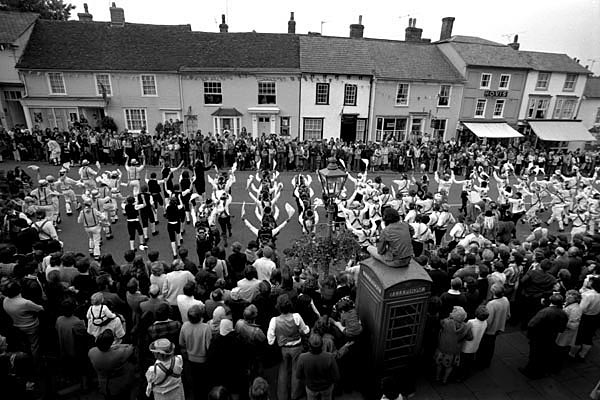 Massed dancing