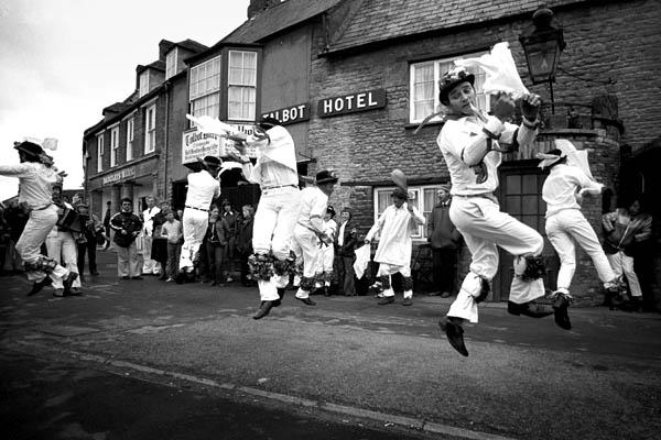 Bampton Morris, Oxfordshire, Whit Monday 1979