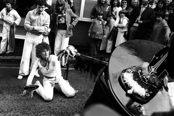Padstow Oss, May Day 1979