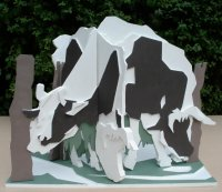Maquette for Grazing