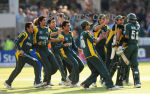 Pakistan Celebrate Twenty20 World Cup Victory