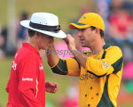 Ricky Ponting fixing Billy Bowden's radio network