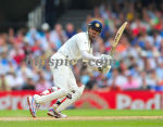 Rahul Dravid cuts during his 146 not out