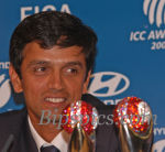Rahul Dravid - Double winner of Inauguaral ICC Awards 2004
