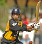 Sachin Tendulkar bats for Lashings