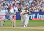 Sachin hits Swann for a straight boundary