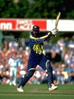 Sir Viv Richards during his final innings in 1993
