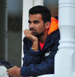 Zaheer watches as England batsmen punish India