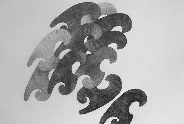 Inlay (2017) 42cm x 59cm