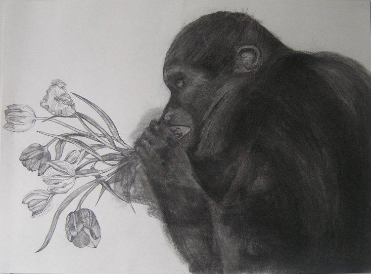 Eating Up Love (2008-12) 50cm x 60cm