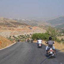 11. The ride continues through farmland towards Kernayel