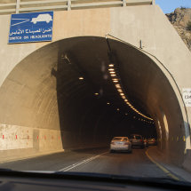 18 CAM 1096 Tunnel 24 on Al Baha escarpment road