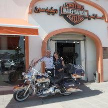 2013 At the Harley Dealership with Maridadi