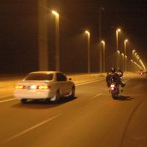 21.DSC 0403 Well lit UAE Highway