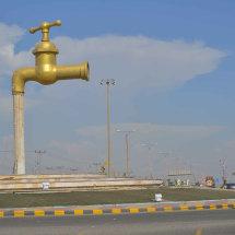 22 Roundabout to Shuqaiq desalination plant