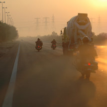 23.Leaving Jebel Al Dhana at dawn