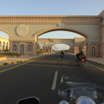 28.Riding into Muscat