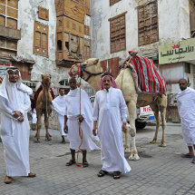 4 Sami Nawar with Hajjis in Old Town