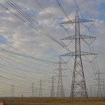 4 Schwaba desalination plant electricity pylons