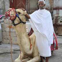 5 Hajji with Camel in Balad