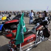 7. 280 bikes gather for registration