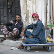 Pakistani Workers in Old Jeddah