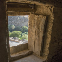 CAM 1023 From inside a house in Dhee Ain village