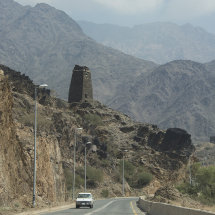 CAM 1180 Watch tower typical of Al Baha region